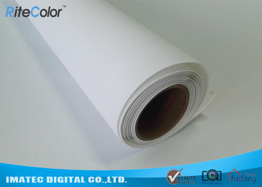 China 300D x 600D Polyester Canvas Rolls / Matte Polyester Print Fabric For Pigment Ink distributor