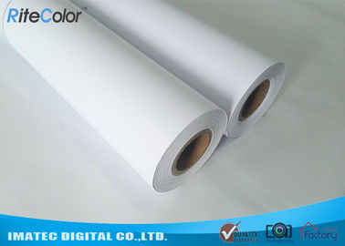 China Inkjet Matte Finish Paper 180 Gram , Waterproof Coated Paper Roll Dye Ink Support factory