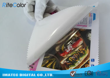 China Inkjet PP 7Mil Self Adhesive Backed Printer Paper For Large Format Printing distributor