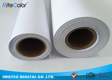 China 30M Polypropylene Inkjet Synthetic Paper , Matte Water Resistant Printer Paper Roll factory