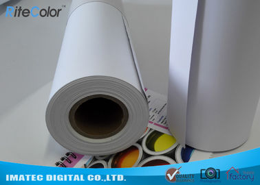 China Matte Printable PP Synthetic Paper , Polypropylene Paper Rolls For Dye Ink factory