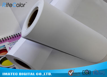 China PP Indoor Advertising Waterproof Synthetic Paper For Inkjet Printers factory