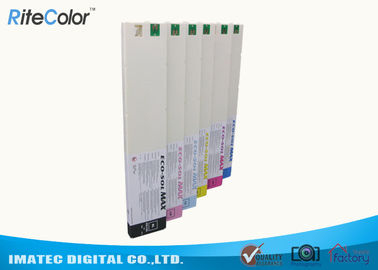 China 440ml Eco Sol Max 2 Ink Cartridge For Roland DX-7 Wide Format Printers distributor