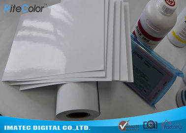 China 160gsm High Glossy Art Inkjet Photo Printing Paper Roll Snow White Cast Coated distributor