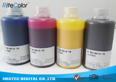 China High Density Heat Transfer Dye Sublimation Ink 250ml / 500ml / 1000ml bottles distributor