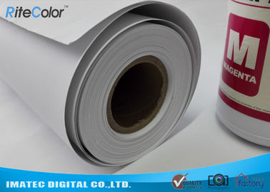 China Wide Format Paper Rolls Inkjet Premium Matte Coated Paper Water Resistance distributor
