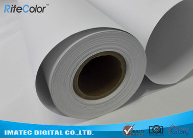 China 128G Large Format  Matte Coated Paper Inkjet Printing 30M For Water Based Printer distributor
