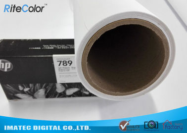 China Latex Media Pure Polyester Canvas Roll For Large Format Printers distributor