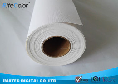 China 360gsm Matte Inkjet Cotton Canvas Roll for Epson / Canon / HP Wide Format Printers factory