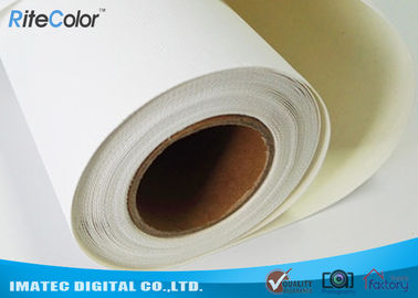 "China 44"" Matte Inkjet Cotton Canvas 360gsm for Inkjet Digital Printing , Waterproof Stretched Fine Art Canvas factory"