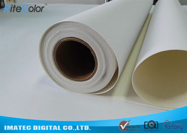 China Inkjet Art Cotton - Poly Blend Canvas Roll 420 gram , Aqueous Matte Cotton Canvas factory