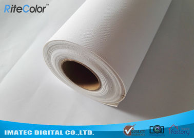 China 360 gsm Aqueous Inkjet Cotton Canvas Matte Inkjet Printable Canvas Cotton - Poly Blend factory