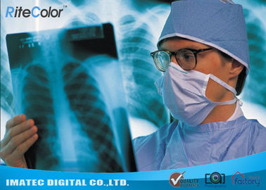China Radiology Blue Inkjet Medical X - ray Film Waterproof Inkjet Printing Film distributor