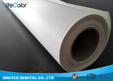 China Microporous Glossy Poly Cotton Inkjet Printing Canvas Waterproof For Pigment Inks factory