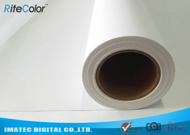 China Water Based Poly Cotton Printable Plotter Canvas , Wall Arts Printing Canvas Rolls factory