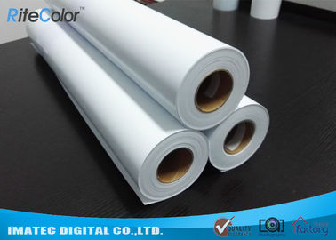 China Eco Solvent Matte PP Synthetic Paper , Solvent based Polypropylene Paper for Outdoor Display distributor