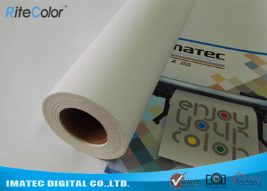 China Large Format 380gsm Inkjet Print Matte Cotton Canvas Roll for Eco Solvent Ink distributor