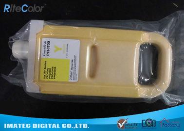 China Premium Wide Format Inks , 700ml Pigment PFi - 1700 Compatible Cartridge distributor