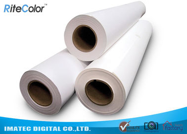 China Waterproof 190mic Matte Inkjet Printing Poly Synthetic Paper for Banner factory