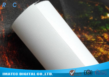 China Waterproof 260gsm Latex and Eco Solvent Media , Glossy Polyester Canvas Roll 60 inches distributor