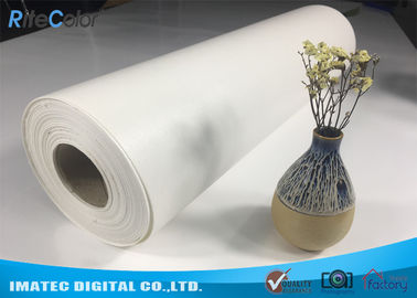 "China Outdoor Eco Solvent 380gsm Glossy Inkjet Pure Cotton Canvas Roll 122"" factory"