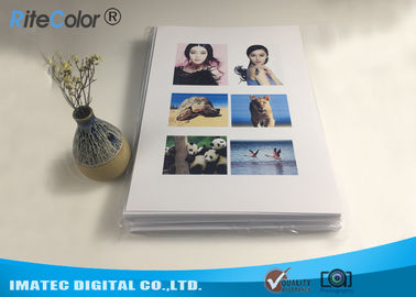 China A4 Double Sided Resin Coated Photo Paper For Canon Epson Desktop Printers factory