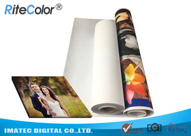 China Eco Solvent 380gsm Matte Cotton Canvas for Large Format Inkjet Printer distributor
