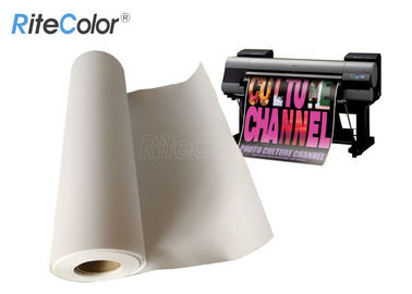 China 360gsm Large Format Matte Polyester Cotton Artist Canvas Fabric Roll factory