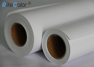 China Inkjet Printable Glossy Luster Resin Coated Photo Paper A1 A0 Roll Glossy Surface factory