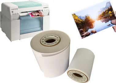 China Microporous Inkjet RC Dry Minilab Photo Paper Roll Digital Printing For Fuji Dx100 / DE100 factory