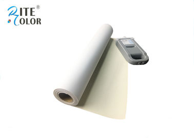 China One Side Matte Polyester Canvas Rolls 220gsm Extra Long Inkjet Canvas Rolls factory