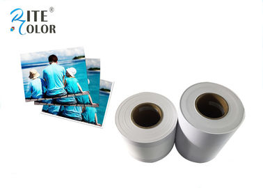 China Digital Minilab Resin Coated Photo Paper Bright Snow White Single One Side factory