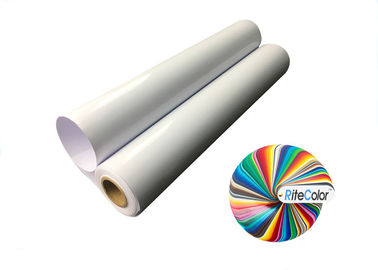 China Glossy Tear Resistant PP Synthetic Paper For Pigment And Dye Ink Inkjet Printers factory