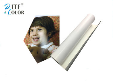 Water Based Inks Resin Coated Photo Paper , Wide Format Inkjet 240Gsm Photo Luster Paper
