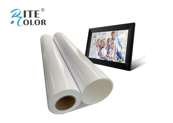 260gsm Waterproof Premium RC Photo Paper Glossy Luster in 24inch Roll
